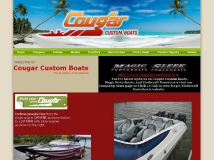 Cached version of Cougar Custom Boats