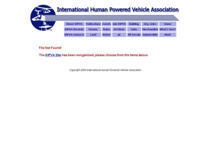 Cached version of Human Powered Vehicle Association