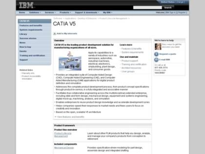Cached version of CATIA