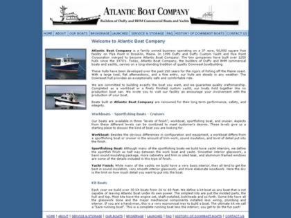 Cached version of Atlantic Boat Company