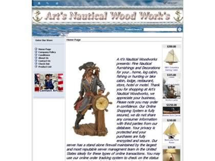 Cached version of Art's Nautical Wood Works
