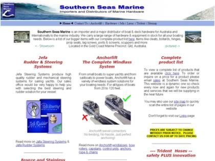Cached version of Southern Seas Marine