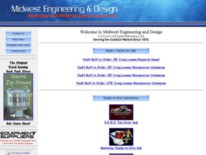 Midwest Engineering & Design - cached - the Boat Design and Boat Building Directory
