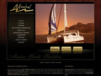 Cached version of Admiral Yachts