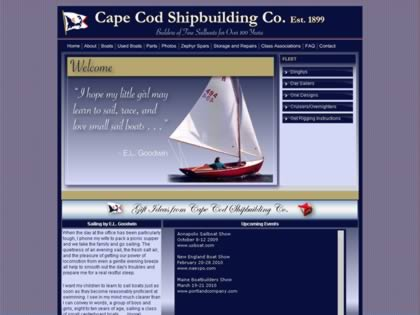 Cached version of Cape Cod Shipbuilding