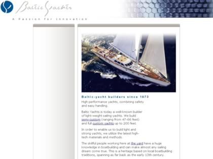 Cached version of Baltic Yachts