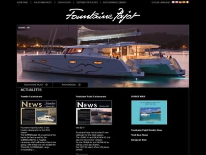 Cached version of Fountaine-Pajot