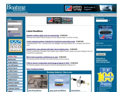 Cached version of Boating Industry International