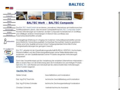 Cached version of Baltec Catamarans
