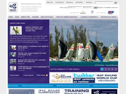 Cached version of International Sailing Federation