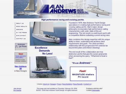 Cached version of Alan Andrews Yacht Design