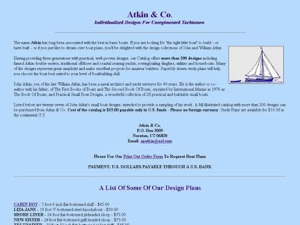 Cached version of Atkin & Co.