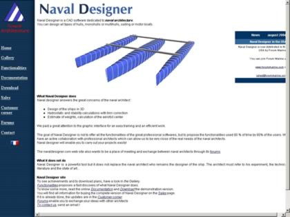 Cached version of Naval Designer