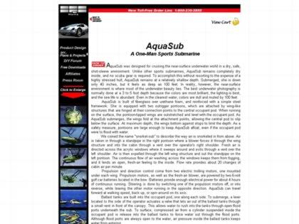 Cached version of AquaSub