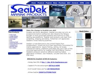 Cached version of Seadek