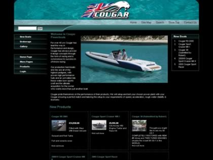 Cached version of Cougar Powerboats