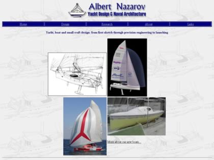 Cached version of Albert Nazarov - Yacht Design & Naval Architecture
