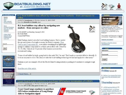Cached version of Boatbuilding.Net by Jamestown Distributors