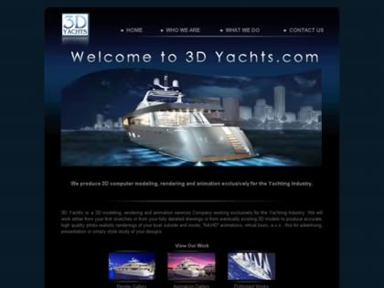 Cached version of 3D Yachts