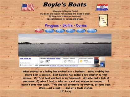 Cached version of Boyle's Boats