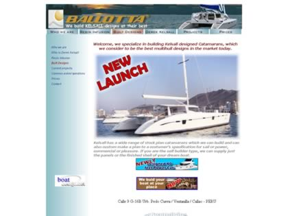Cached version of Ballotta Catamarans