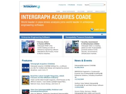 Cached version of Intergraph Marine Design and Engineering