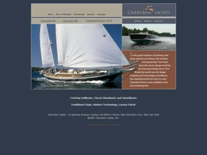 Cached version of Cherubini Yachts