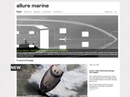 Cached version of Allure Marine