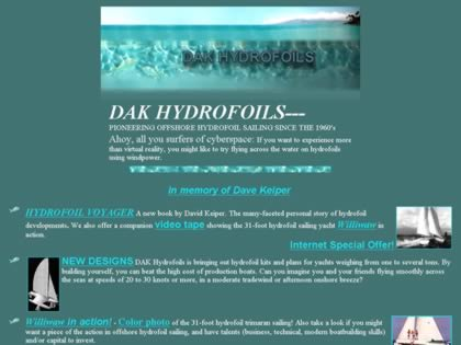 Cached version of Dak Hydrofoils