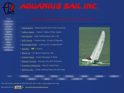 Cached version of Aquarius Sail