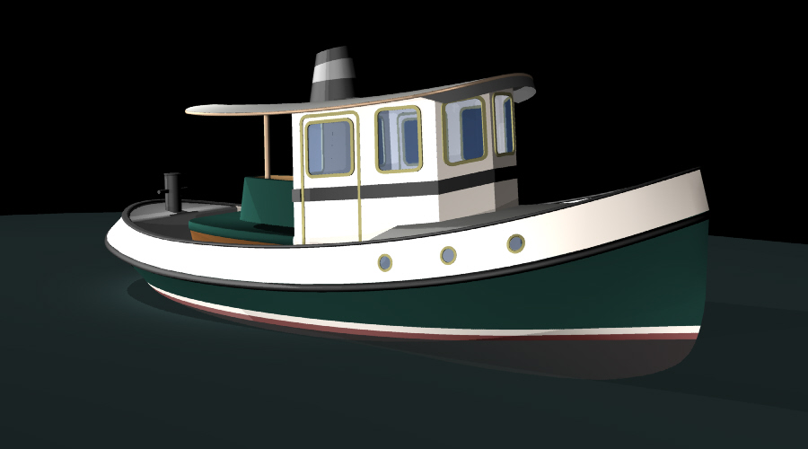Info Plywood tugboat plans | Arro