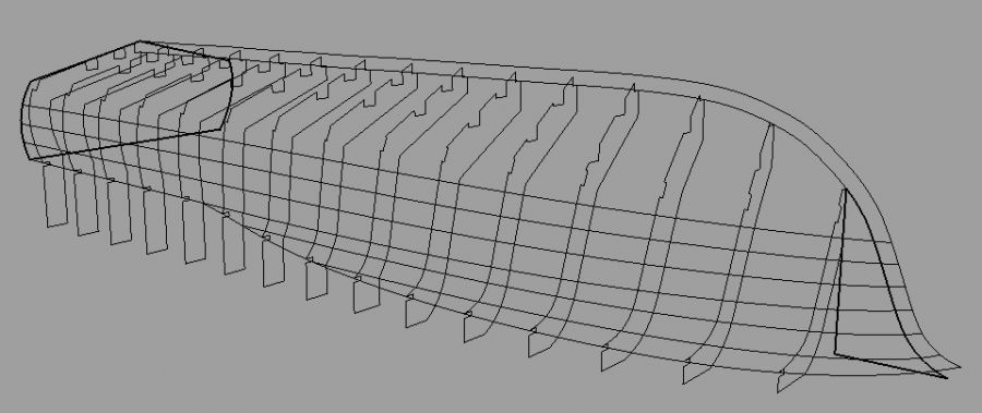 Software to convert lofting offsets to CNC? - Boat Design Forums