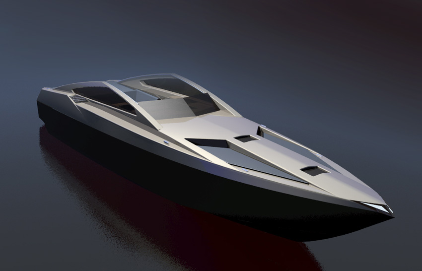 Gallery For > Fast Boat Design