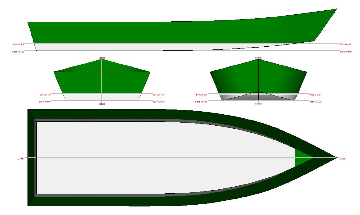 16+Foot+Skiff+Boat+Plans Boat Design Gallery