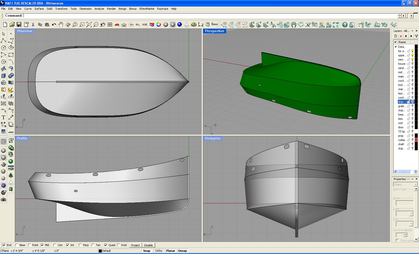Awo2: Small tugboat plans