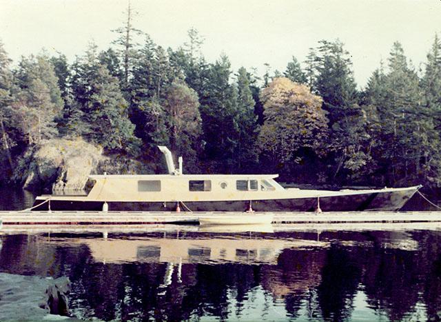 Bolger design wyoming for William garden sailboat designs