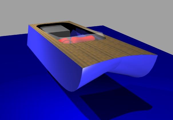 inverted V hull - Boat Design Net Gallery