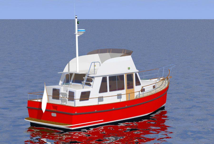 Aluminum trawler boat plans | Cimon