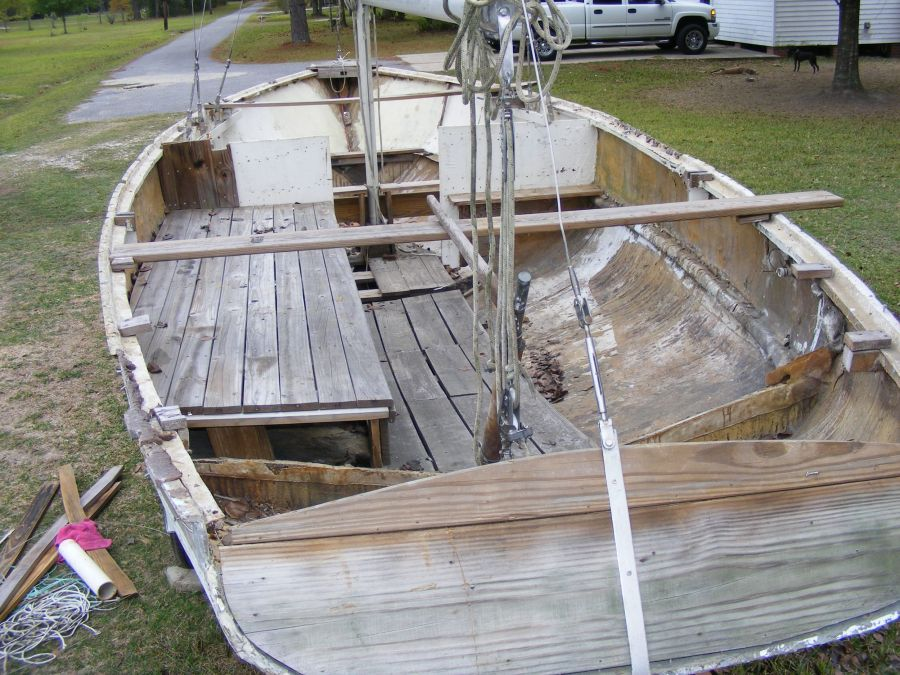 the deck on my Pearson Ensign - Page 6 - Boat Design Forums
