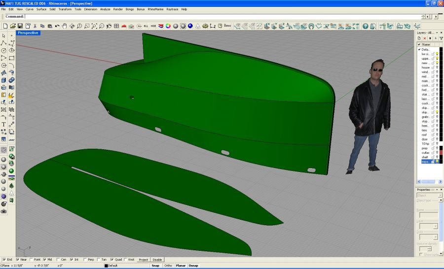 Mini Tug Boats Plans