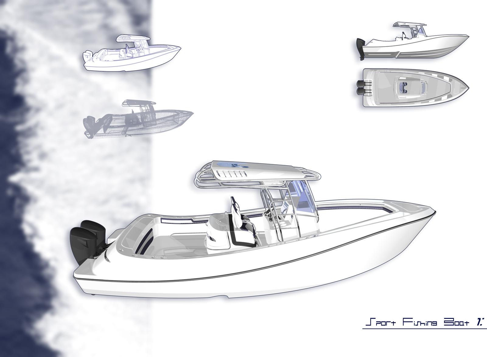 Center Console Boat Design Software