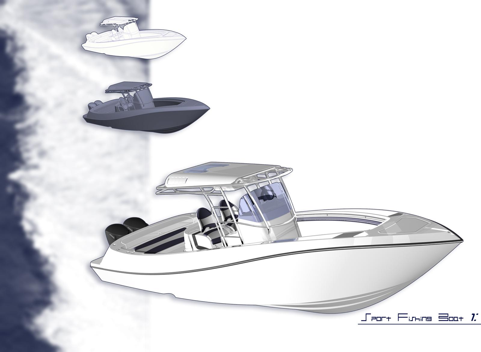 Sport Fishing Boats Hull Design