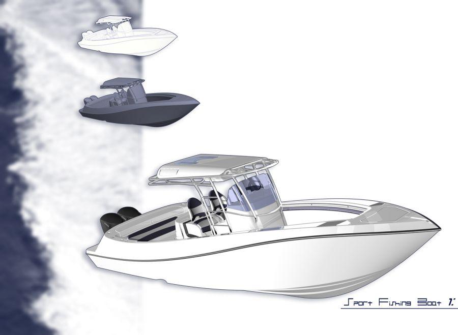 Sport fishing boat plans   Best Boat builder plan
