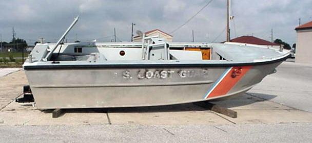Aluminum Coast Guard Patrol