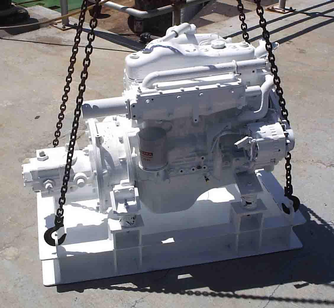 Photos of Isuzu Boat Engine