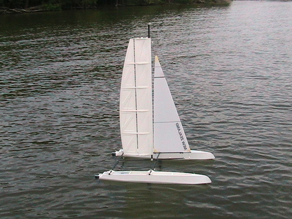 Wingsail Catamaran Model - Boat Design Net Gallery
