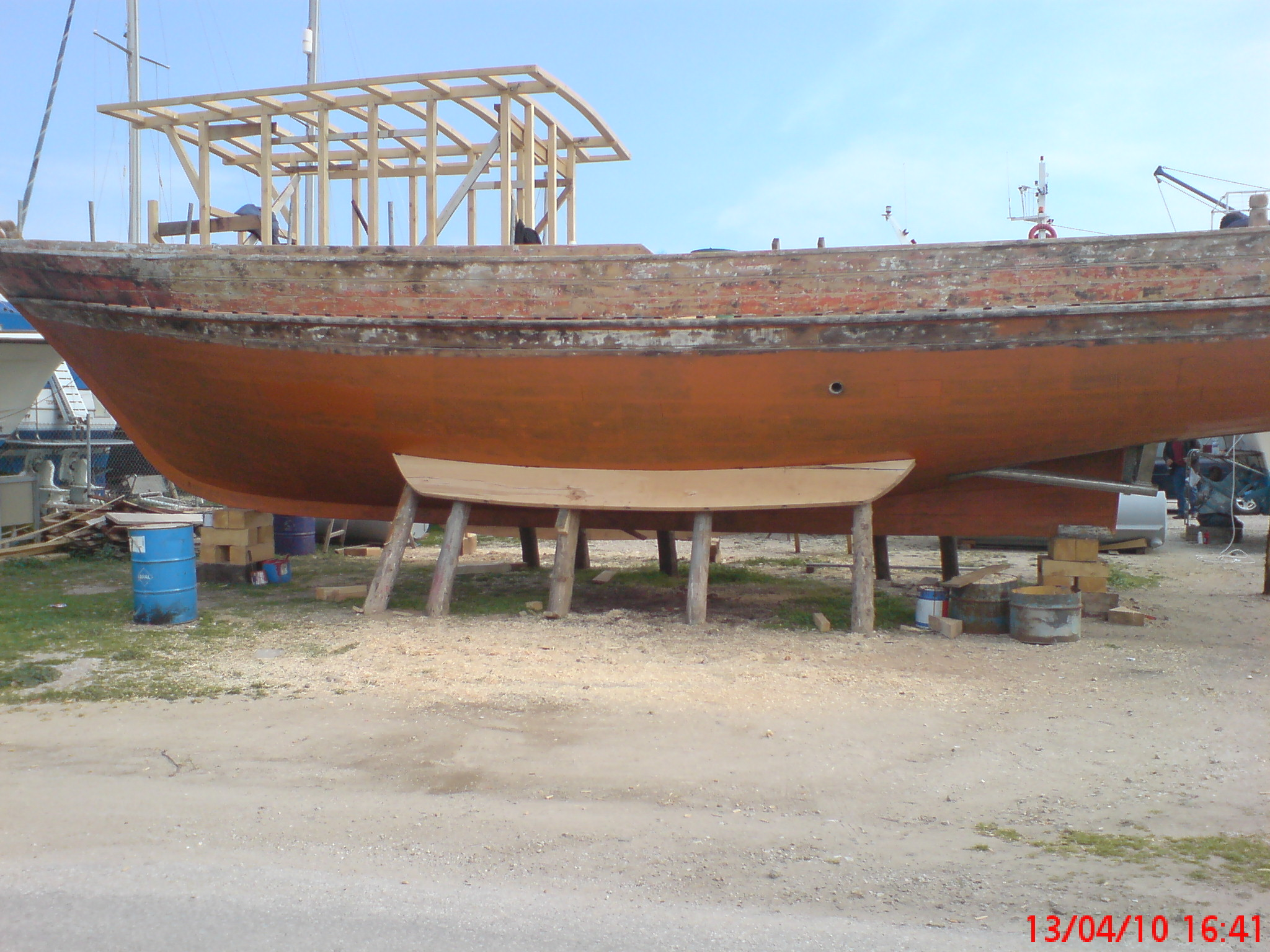 Fiberglassing 15m Wooden Fishing Boat Boat Design Net