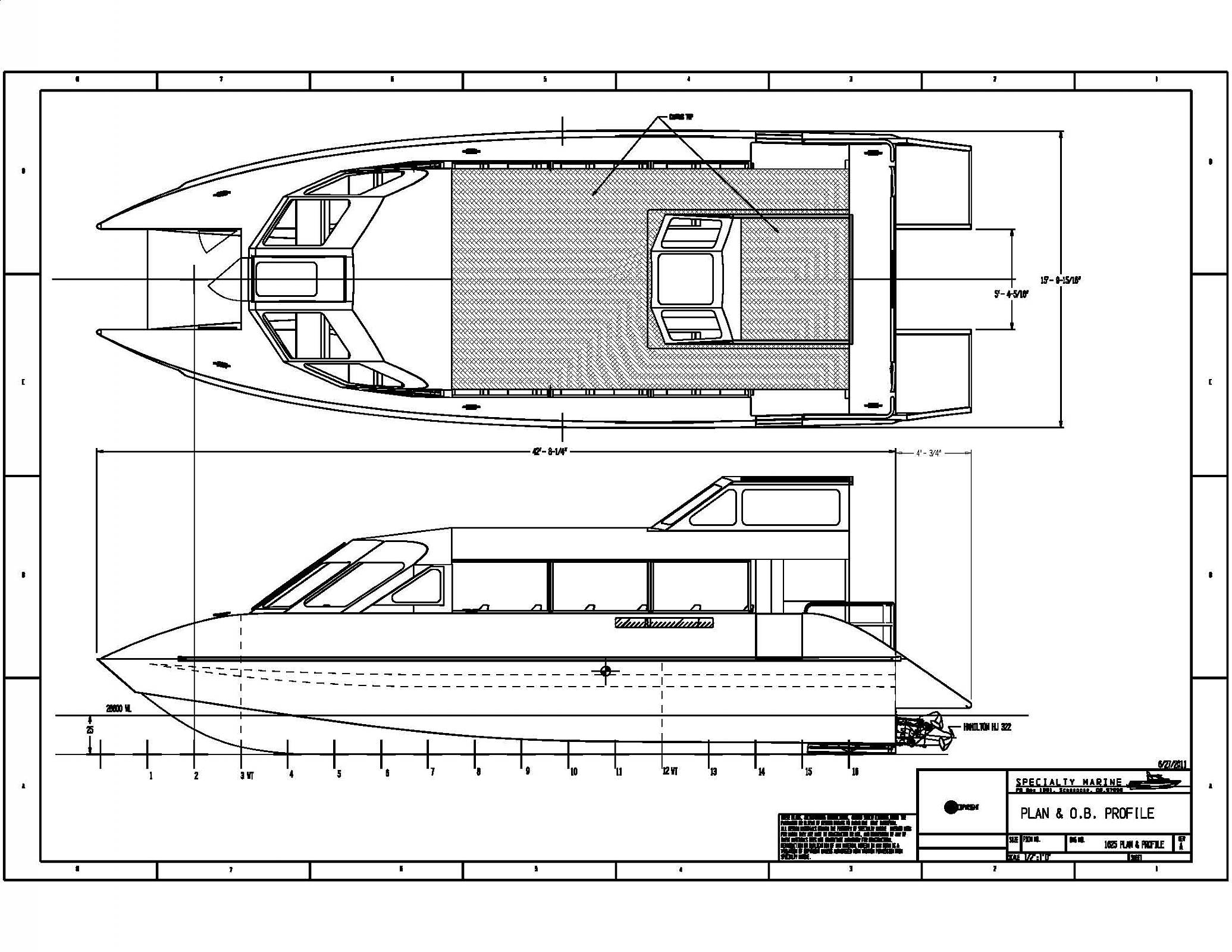 Building a catamaran for both river and sea | Boat Design Net