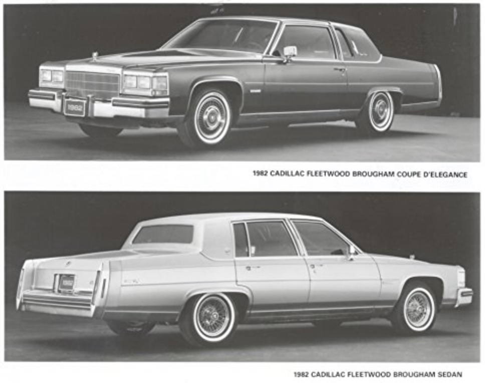 1982 Cadillac Fleetwood Brougham Coupe and Sedan Factory Photo.jpg