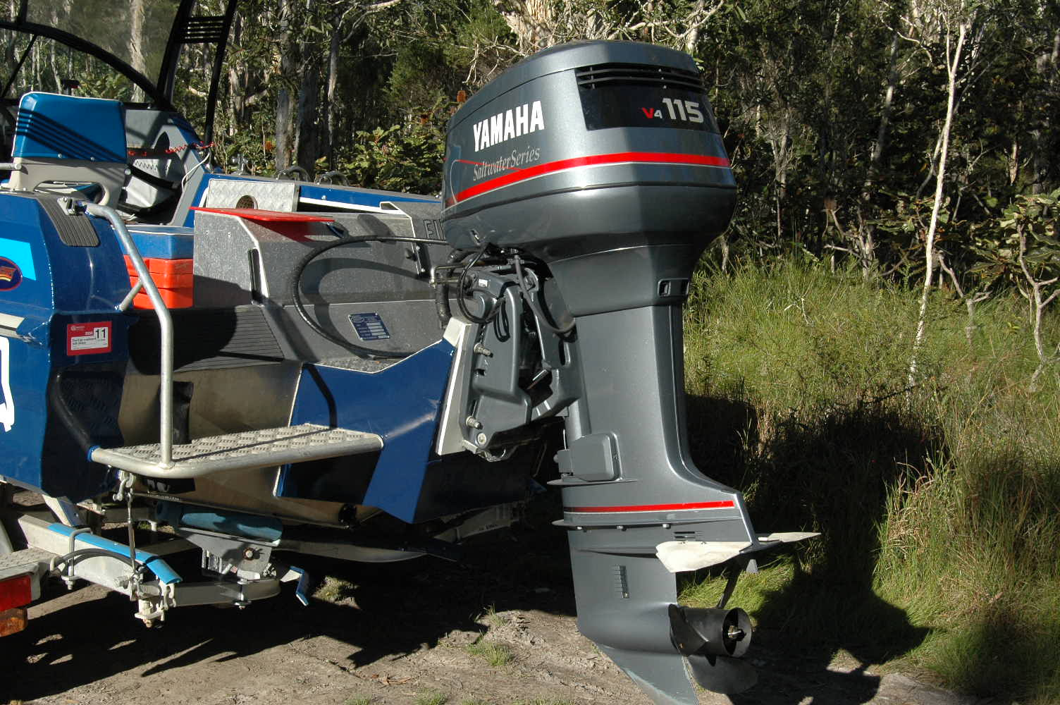 Outboard motor bracket dimensions for How to raise outboard motor